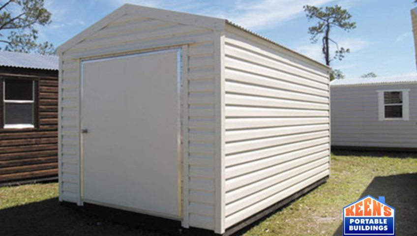 Keens-Buildings-Metal-Shed-12x16-60-door-storage-building