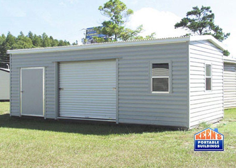 Metal-Shed-12x24-lumberjack-rolldoor-building