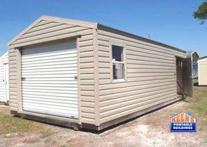Keens-Buildings-Metal-Shed-12x30-rolldoor