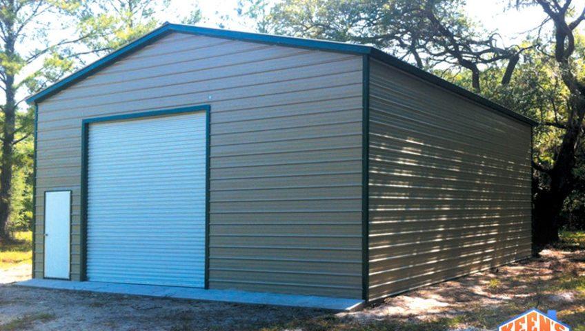 Enclosed Garage 30X31X12