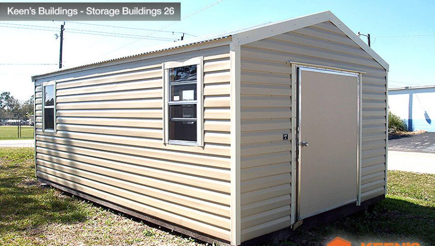 Keens Buildings 12x20 Storage Building 26