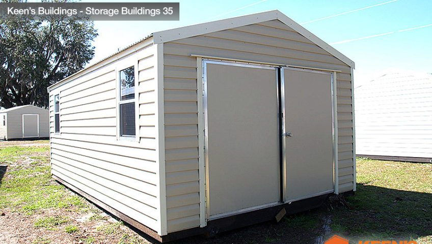 Keens Buildings 12x24 Storage Shed view 2 35