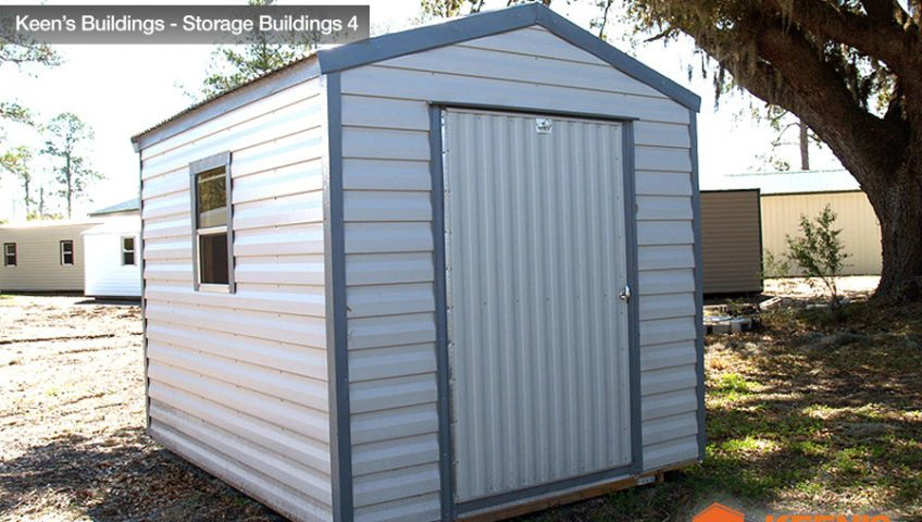 Keens Buildings 8x10 Storage Shed 4