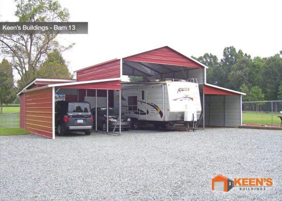Keens-Buildings-Carolina-Barn-with-Lean-To-13