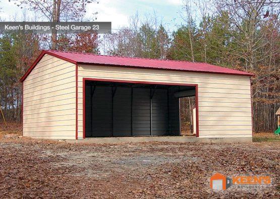 Keens Buildings Steel Garage 23