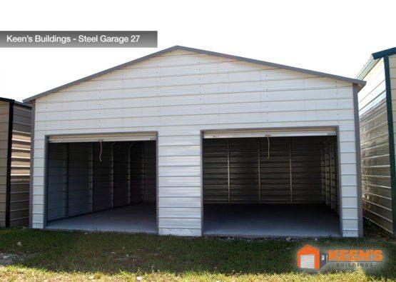 Keens Buildings Steel Garage 27