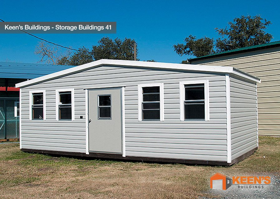 Keens-Buildings-12x30-Storage-Building-with-one-walk-in-door-41-A-Frame-Pool-House